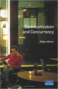 Carátula del libro Communication and Concurrency de Robin Millner.